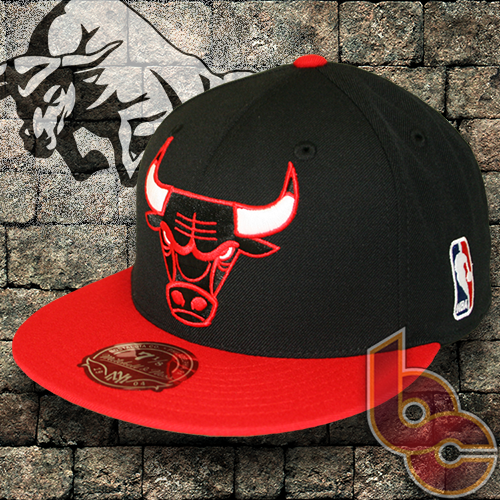 Chicago Bulls + Mitchell   Ness + Fitted   Greatness - Billion Creation  Streetwear 47b9576564d