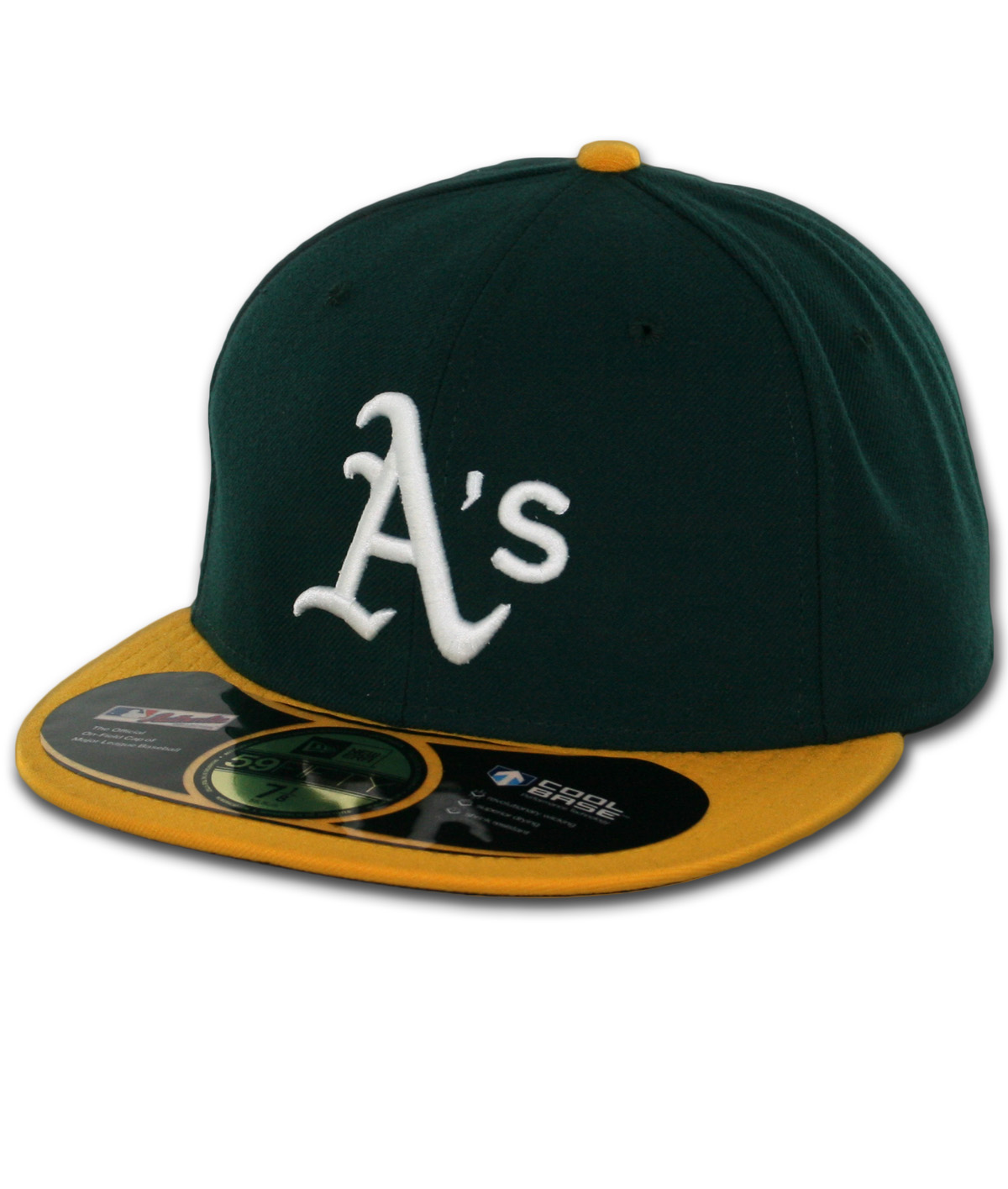 77bfc4a79829 New Era 59Fifty Oakland Athletics 2016 Home Authentic On Field Fitted Hat