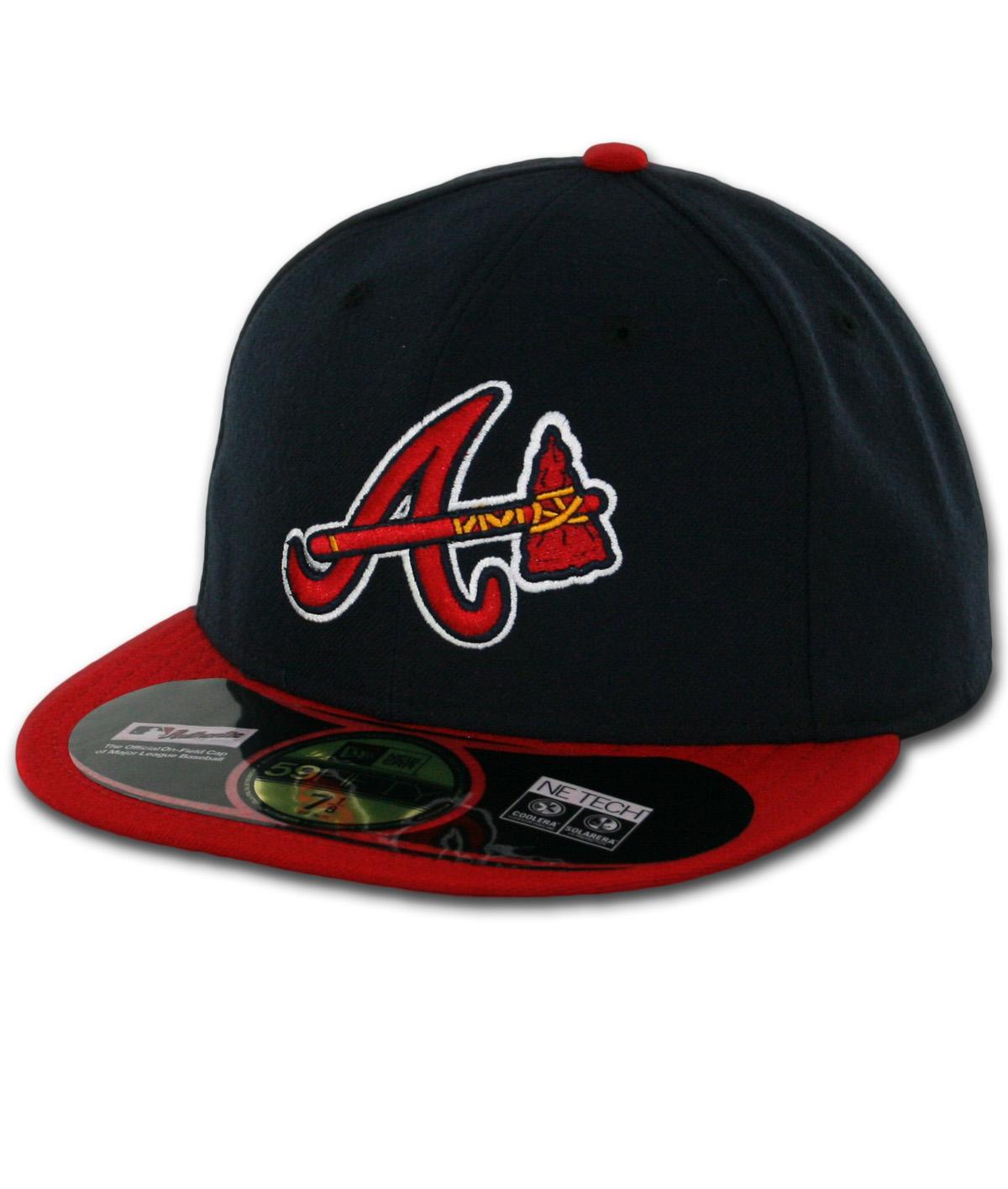 New Era 5950 Atlanta Braves Alternate Authentic On Field ...Atlanta Braves
