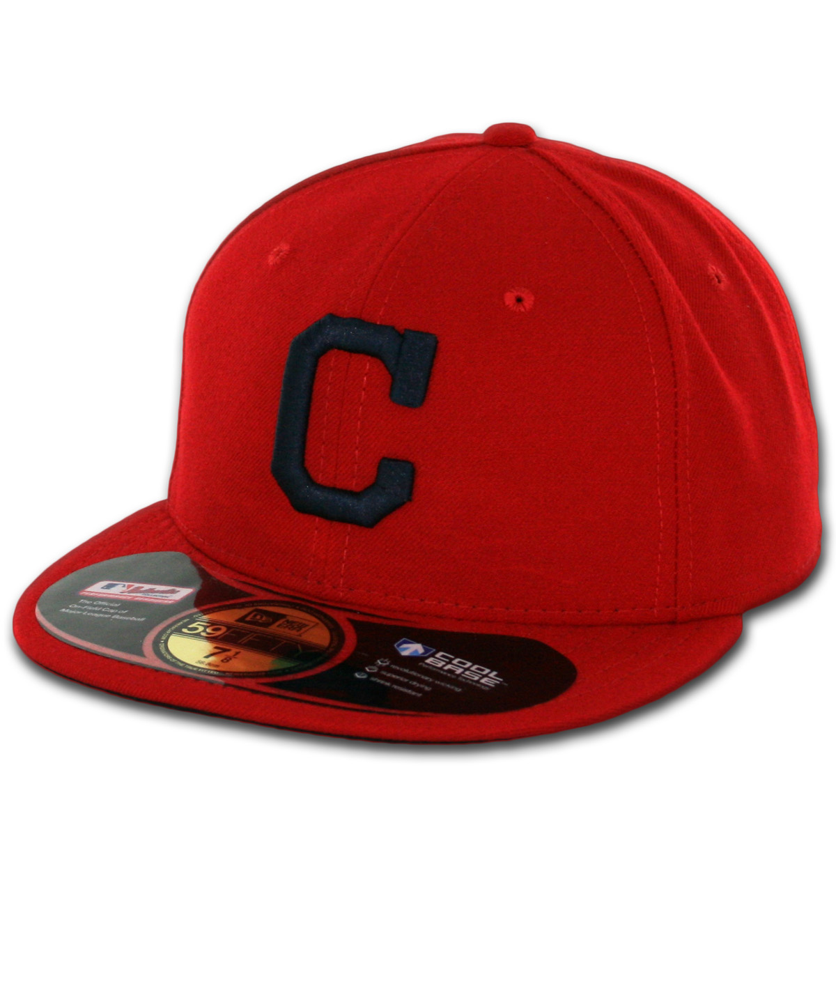 0ae47680 New Era 59Fifty Cleveland Indians Alternate 1 Authentic On Field Fitted Hat