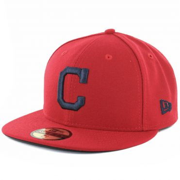 New Era 59Fifty Cleveland Indians 2018 Alternate 1 Authentic On Field Fitted Hat