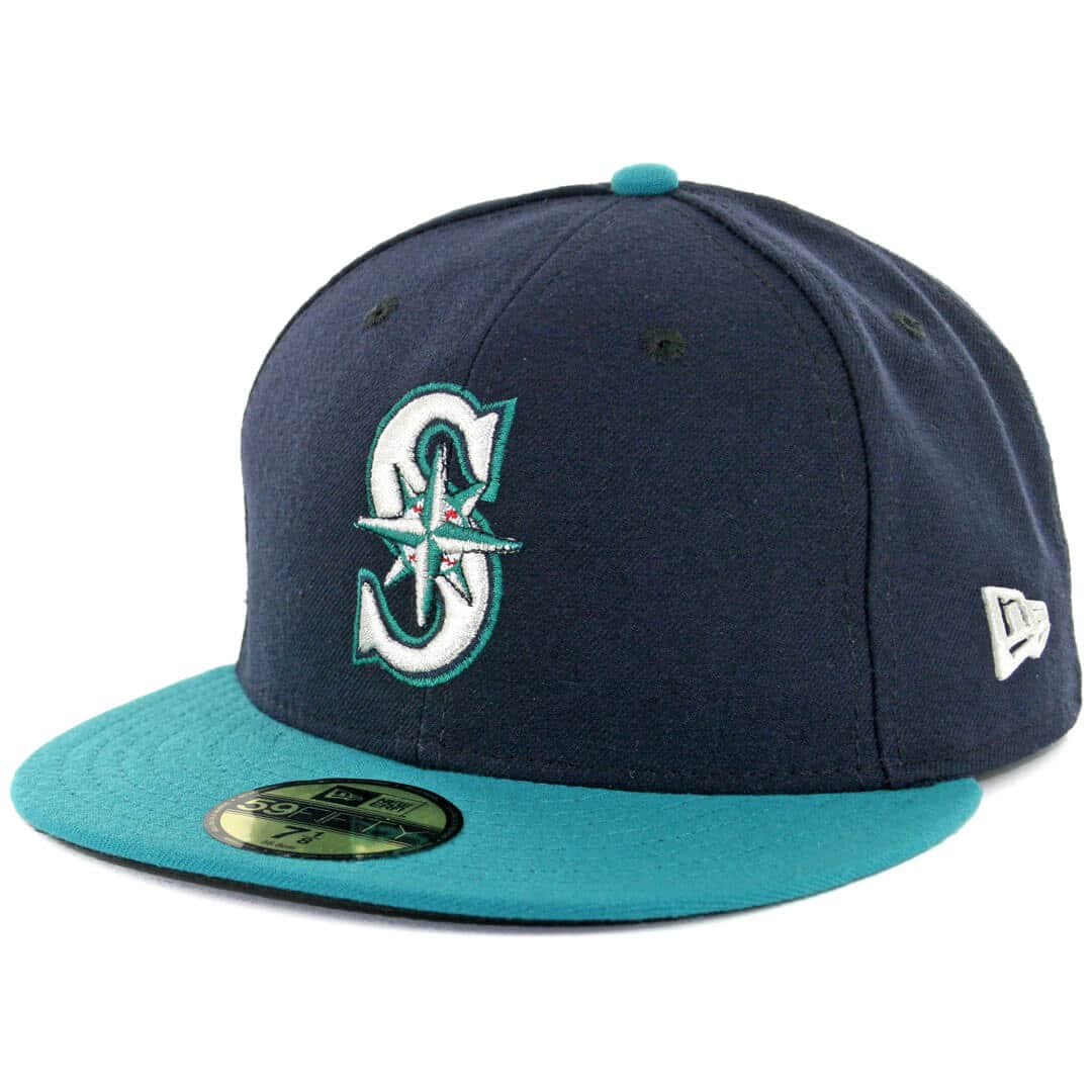 super popular 40f6c 8105e New Era 59Fifty Seattle Mariners Alternate Authentic On Field Fitted Hat