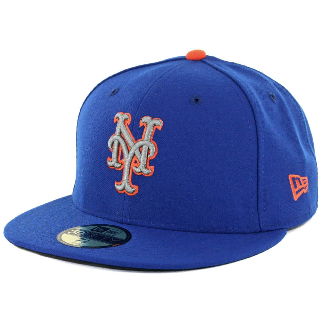 34c1c95b New Era 59Fifty New York Mets Alternate 2 Authentic On Field Fitted Hat