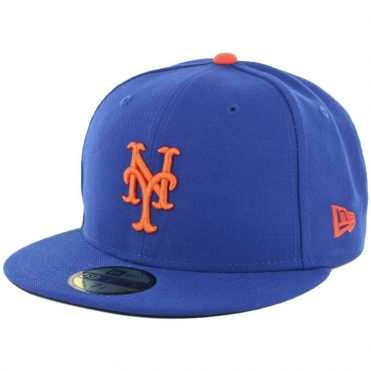 2f1fe3d9b22 New Era 59Fifty New York Mets Home Authentic On Field Fitted Hat ...