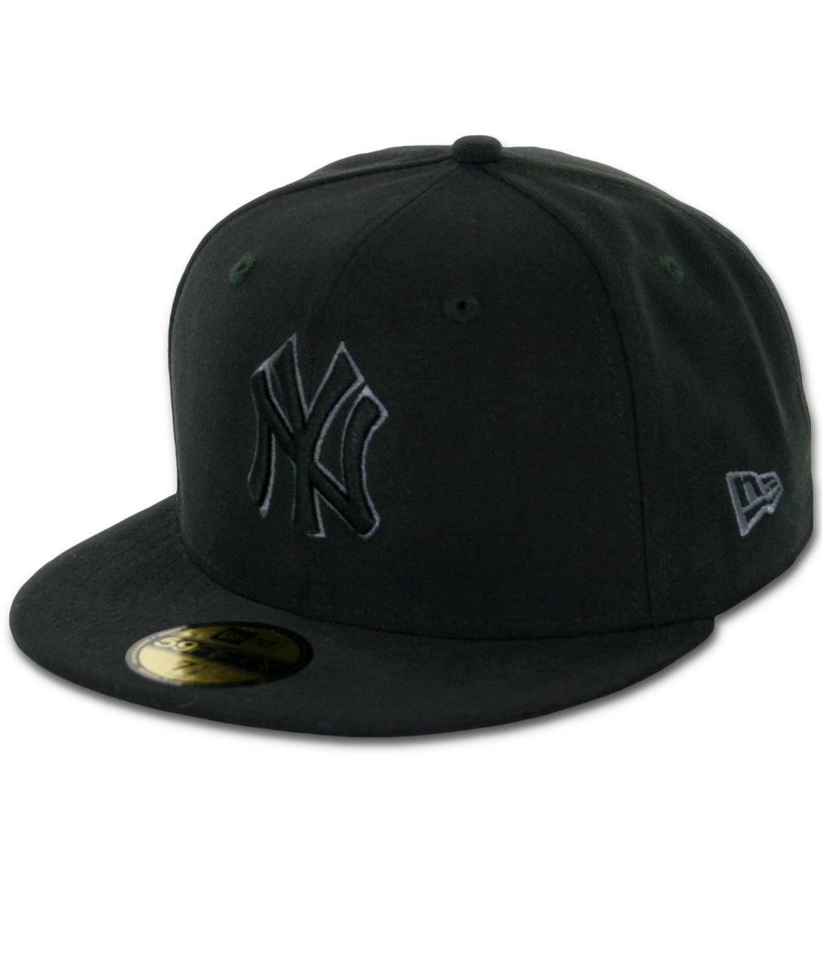 065c60e96d361e New Era 59Fifty New York Yankees Fitted Black, Black, Grey Hat ...