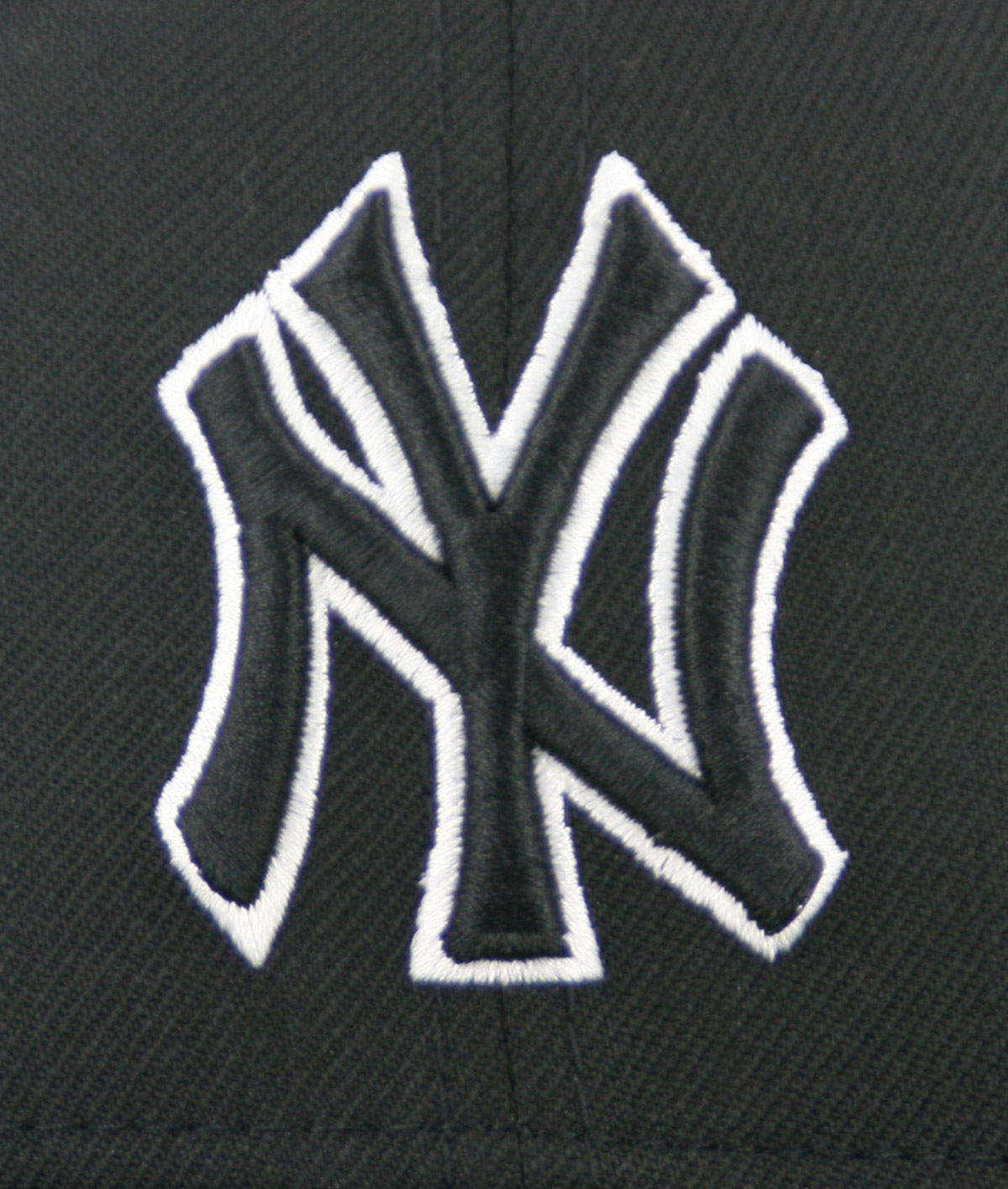 New Era 59fifty New York Yankees Fitted Black Black