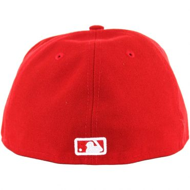 New Era 59Fifty San Diego Padres Fitted Scarlet Red, White Hat