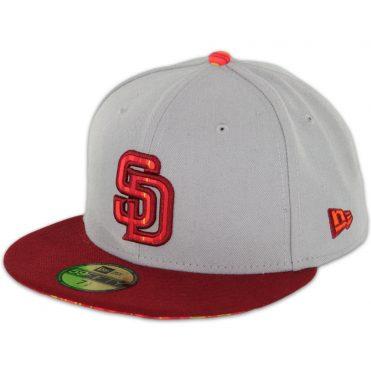 7f805d40 New Era x Billion Creation 59Fifty San Diego Padres Starburst Fitted Hat ...