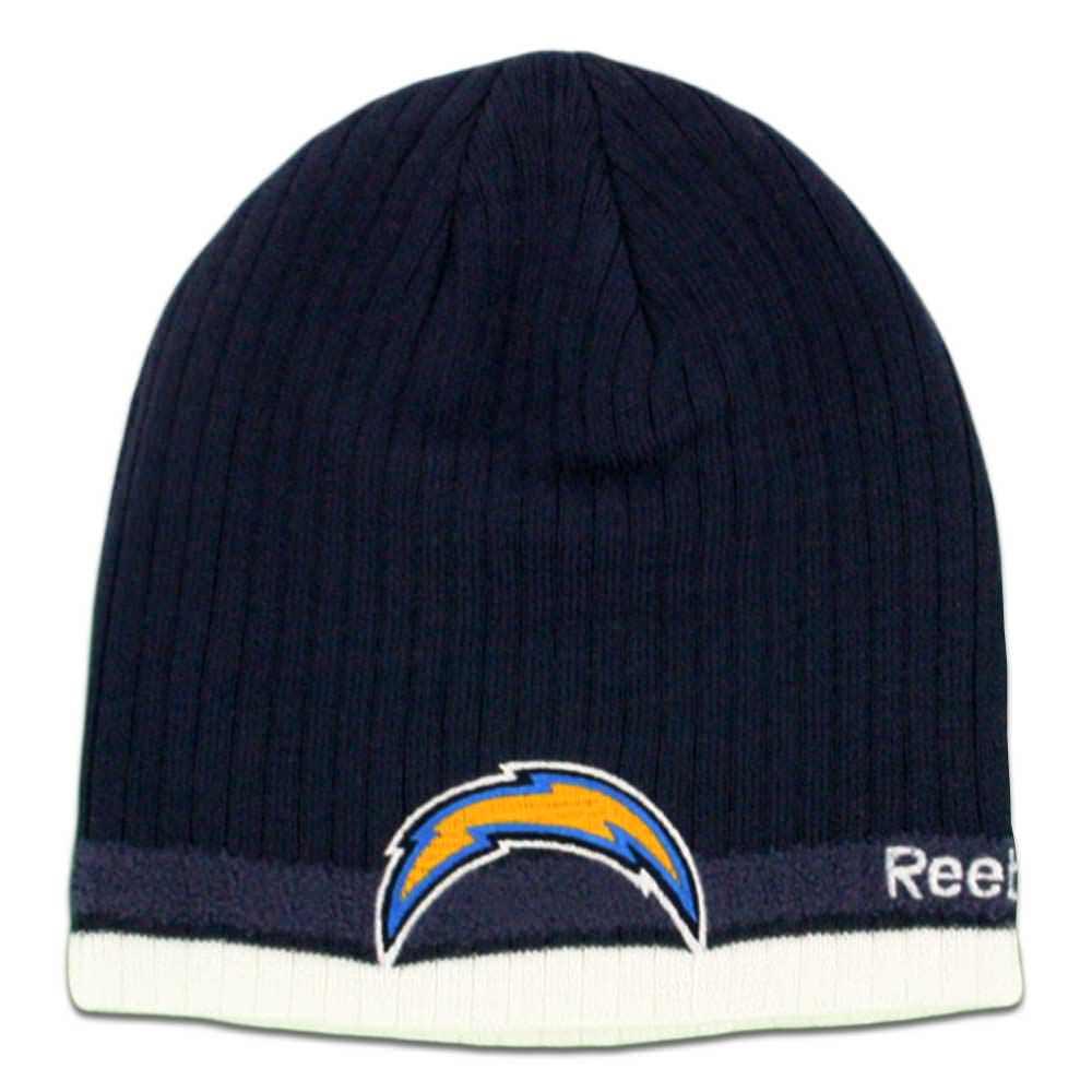 17a7cd00429 ... Back Knit San Dark beanie Knit Diego Beanie hats Beanies reebok  Chargers Hats Cuffless Navy Reebok ...