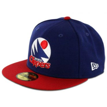 New Era 59Fifty San Diego Clippers Two Tone Fitted Royal Blue, Red Hat
