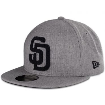 b4e06b43d20 New Era x Billion Creation 59Fifty San Diego Padres Fitted Hat Letterman ...