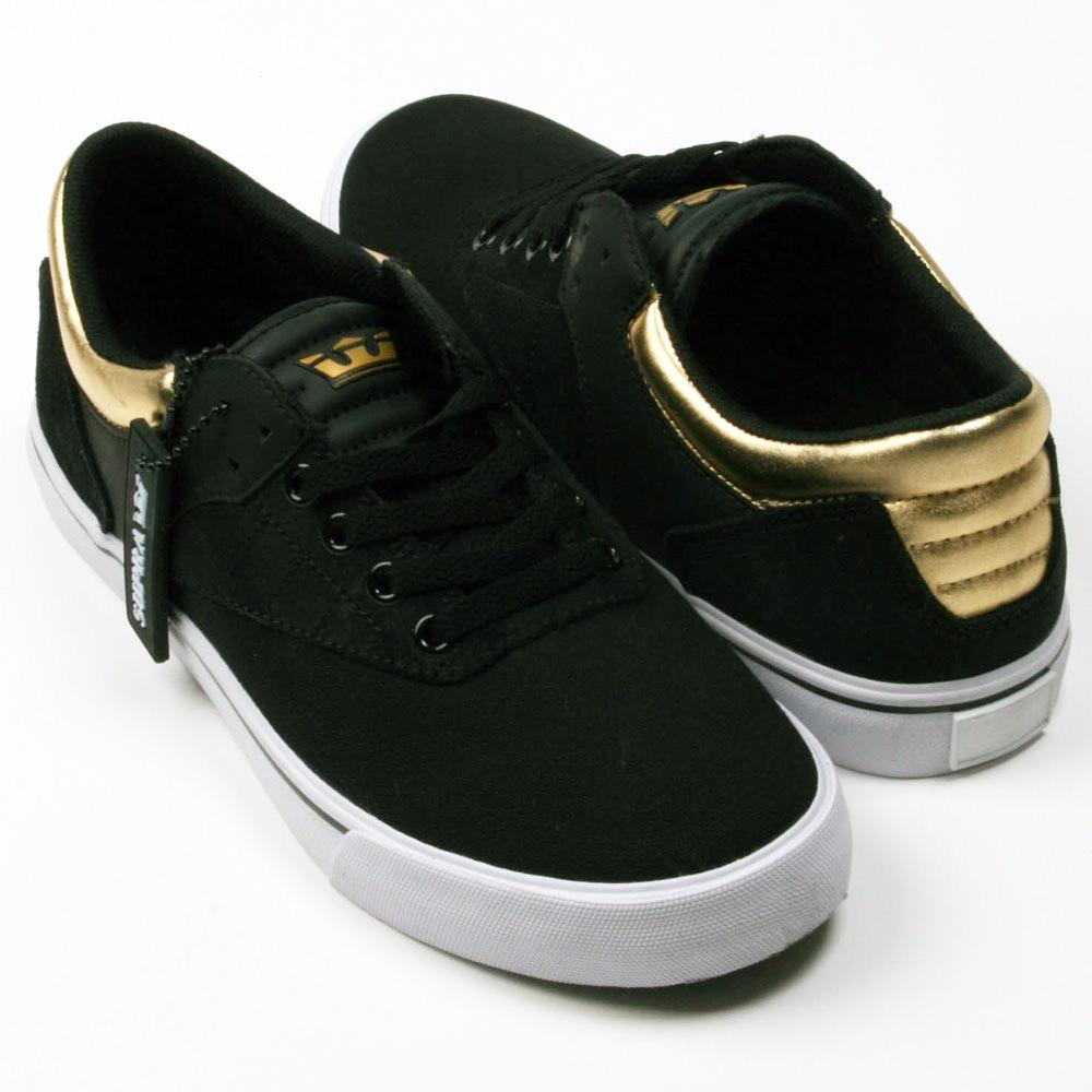 Supra Griffin Black, Gold-White Shoe
