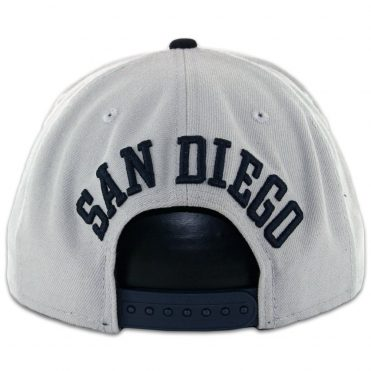 a99e938112c ... New Era 9Fifty San Diego Padres Tony Gwynn Grey Dark Navy Snapback Hat