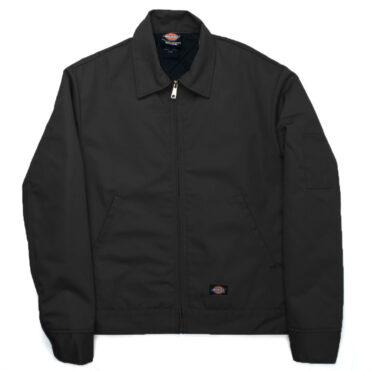 Dickies TJ15 Lined Eisenhower Black Jacket