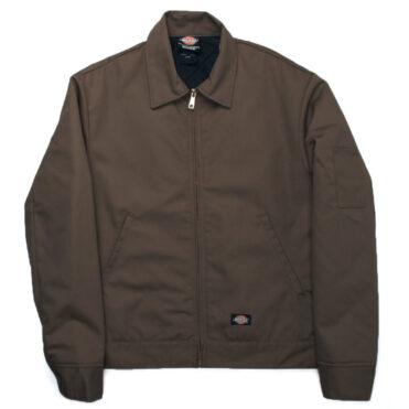 Dickies TJ15 Lined Eisenhower Dark Brown Jacket