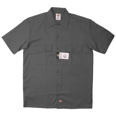 Dickies 1574 Short Sleeve Charcoal Work Shirt