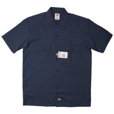 Dickies 1574 Short Sleeve Dark Navy Work Shirt