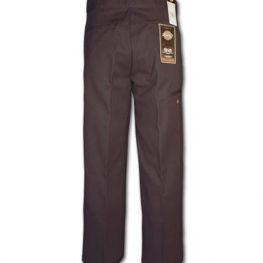Dickies 85283 Loose Fit Double Knee Dark Brown Work Pant