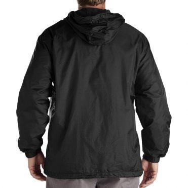 Dickies 33237 Hooded Windbreaker Black Jacket