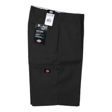 """Dickies 42283 13"""" Loose Fit Multi-Use Pocket Black Work Short"""