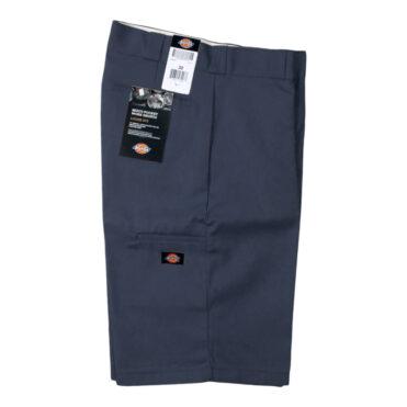 """Dickies 42283 13"""" Loose Fit Multi-Use Pocket Dark Navy Work Short"""