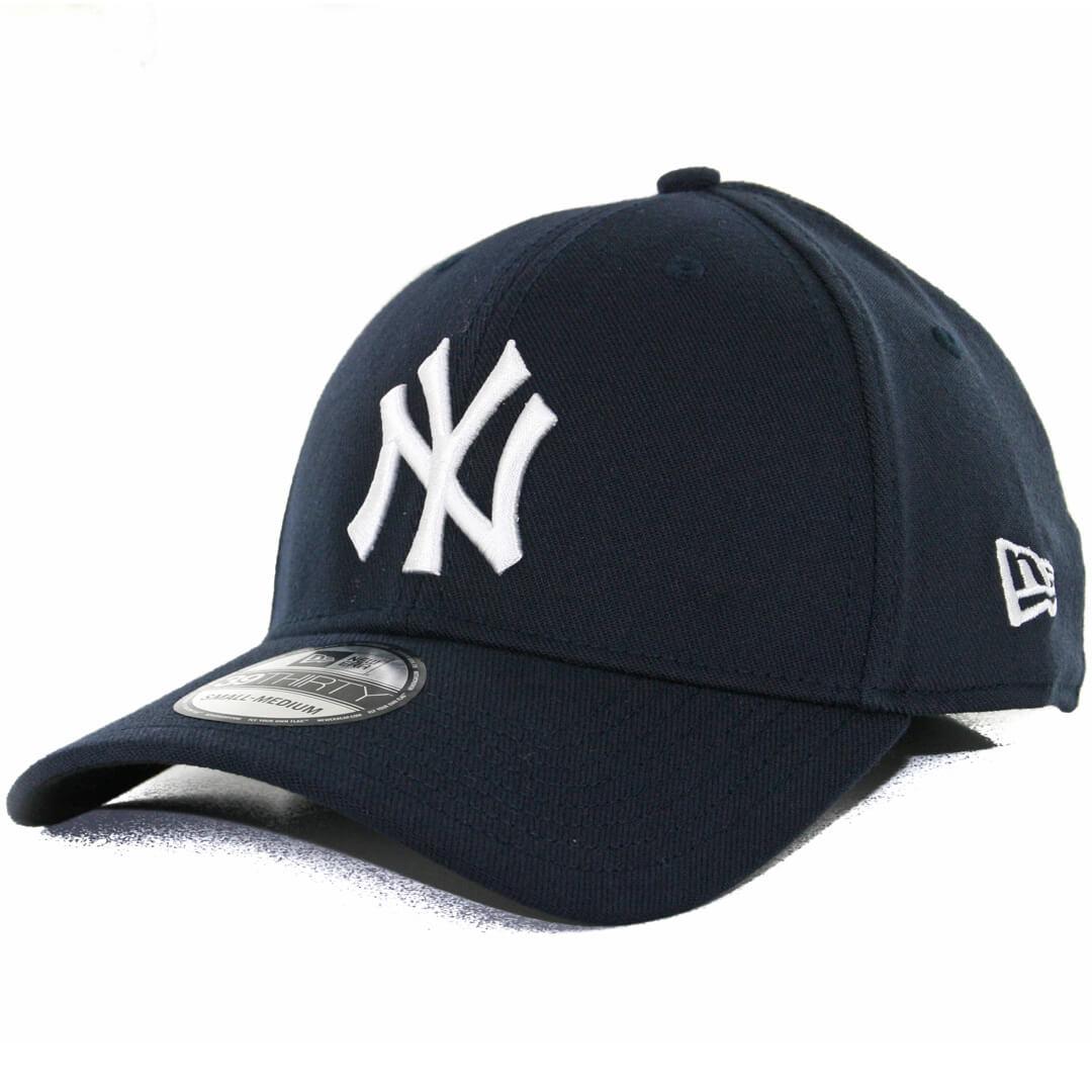 meet b6954 a3590 New Era 39Thirty New York Yankees Team Classic Stretch Fit Hat, Navy
