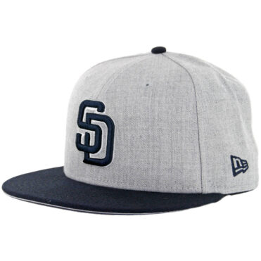 3ee4b7066a338 San Diego Padres Hats - Authentic New Era 59FIFTY Fitted Cap