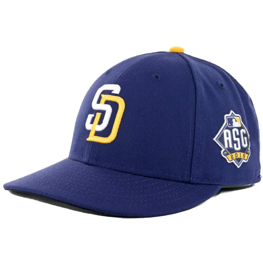 de28e6bc44d737 New Era 59Fifty Low Profile San Diego Padres 2016 All Star Game Fitted Hat