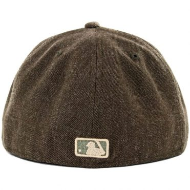 New Era x Billion Creation 59Fifty San Diego Padres Heather Fitted Hat, Heather Brown
