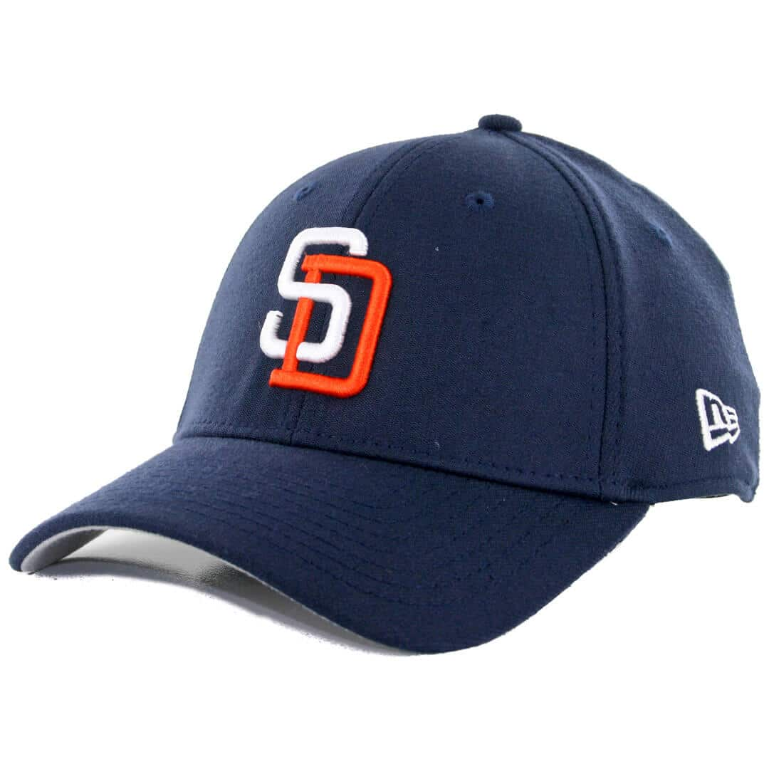 67fbe9f0c New Era 39Thirty San Diego Padres Tony Gwynn Team Classic Stretch Fit Hat,  Dark Navy