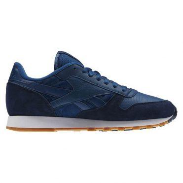 Reebok Classic Leather Perfect Split Pack Noble Blue Collegiate Navy White  Gum Shoe ...