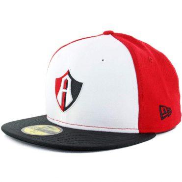 New Era 59Fifty Cap Dorados de Sinaloa Mexican Soccer Club Fitted Hat White