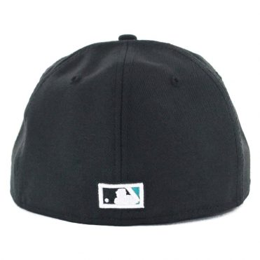 c18844973f9 ... New Era 59Fifty Florida Marlins Cooperstown Fitted Hat Black