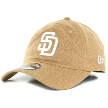 f9b2b11d4d6 New Era x Billion Creation 9Twenty San Diego Padres Waxed Cotton Strapback Hat  Khaki ...