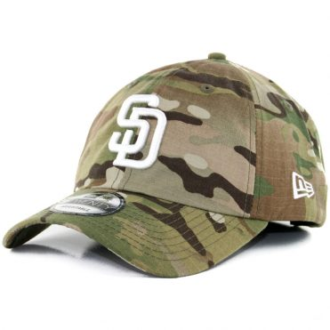 New Era x Billion Creation 9Twenty San Diego Padres Multicam 2.0 Snapback Hat