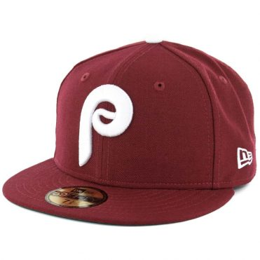 New Era 59Fifty Philadelphia Phillies 1975 Cooperstown Fitted Hat Cardinal