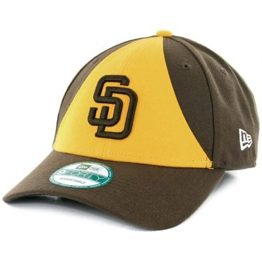 0df3bcd4b1e New Era 9Forty San Diego Padres The League Alternate 2 Strapback Hat Gold  Brown ...