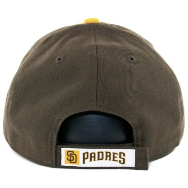 d470c151c89 ... New Era 9Forty San Diego Padres The League Alternate 2 Strapback Hat  Gold Brown