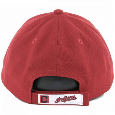 new product 6a680 e9c4e ... New Era 9Forty Cleveland Indians The League Alternate Strapback Hat Red