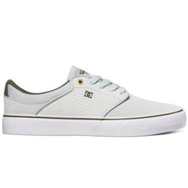 efe02da3ff4 DC Shoes Mikey Taylor Vulc Shoe Grey White Green ...