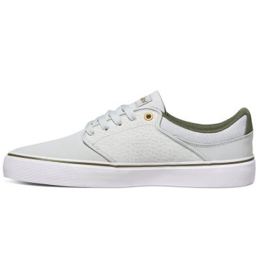 611ef5d3c25 ... DC Shoes Mikey Taylor Vulc Shoe Grey White Green