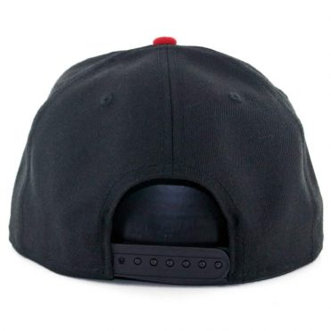 "... New Era 9Fifty Tijuana Xolos ""Dog Logo"" Snapback Hat Black White Scarlet 2b9ab7f9b9b"