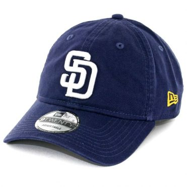 253a93e5c73 New Era 9Twenty San Diego Padres Game Core Classic Strapback Hat Navy ...