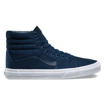 Vans Sk8-Hi Mono Canvas Shoe Dress Blue