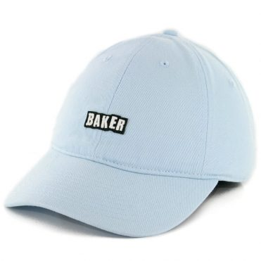 Baker Chico 6 Panel Strapback Hat Baby Blue