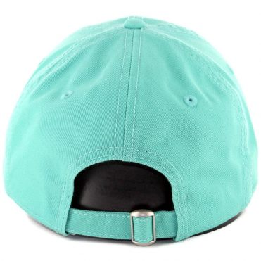 New Era 9Twenty San Diego Padres Micro Logo Strapback Hat Clear Mint White