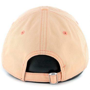 New Era 9Twenty San Diego Padres Micro Logo Strapback Hat Peach White