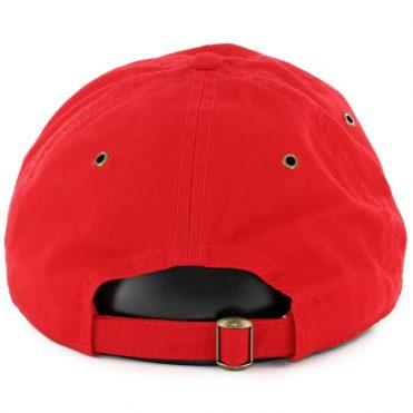 ... New Era 9Twenty Washington Nationals Team Essential Strapback Hat Red 76cb3611103