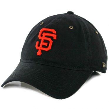 official photos 1282a 89353 New Era 9Twenty San Francisco Giants Team Essential Strapback Hat Black ...