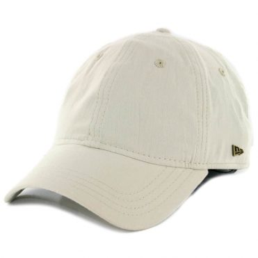 82b911fb32a New Era 9Twenty Essential Strapback Hat Stone ...